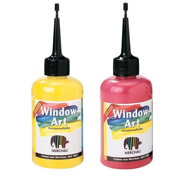 Farby na sklo Window Art 80ml   rôzne odtiene c9cb82c6558
