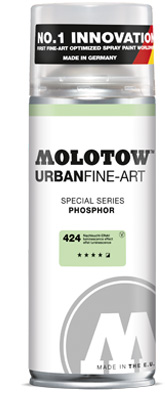 Spreje graffiti MOLOTOW™ UFA Phosphor 400 ml