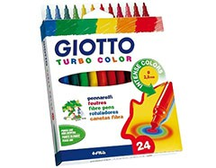 Fixky GIOTTO TURBO COLOR / 24 farieb