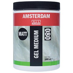 Matné médium gel AMSTERDAM 1000ml